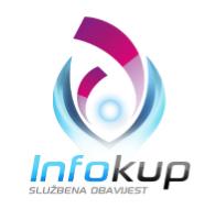 Poziv na suradnju u organizaciji i provedbi Natjecanja - Infokup 2013